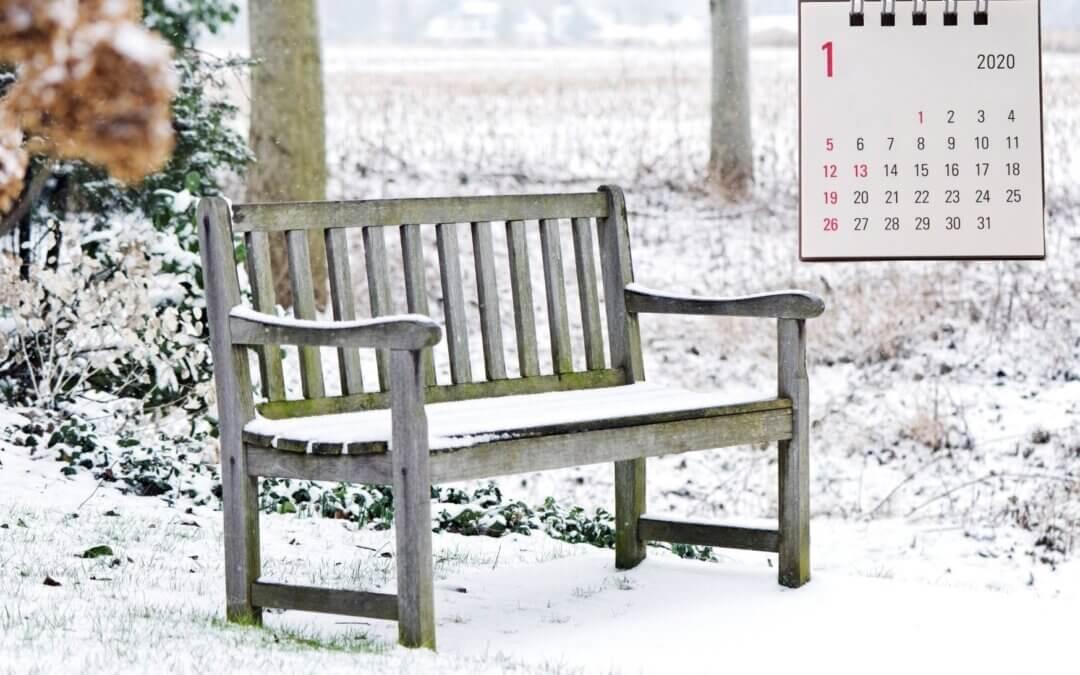 Zahradní kalendář – mrazivý leden